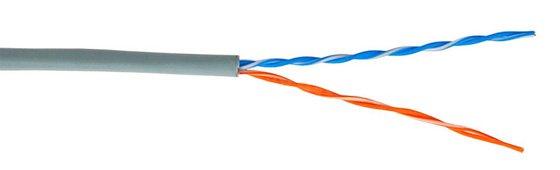 Многопарные кабели на основе витой пары проводников используются для организации магистральных кабельных сегментов